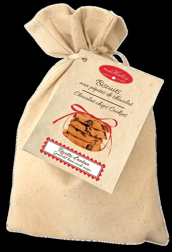 Recette d'Antan - Préparation pour Biscuits aux Brisures de Chocolat