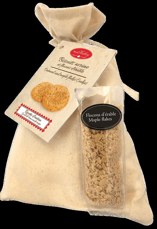 Recette d'Antan - Préparation pour Biscuits Avoine et Flocons d'érable