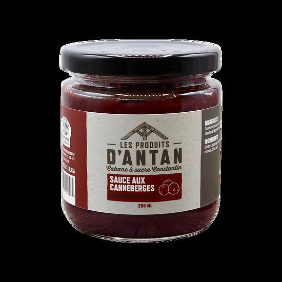 Sauce aux canneberges - Produit d'Antan
