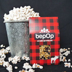 """Kit à pop-corn bepOp -  Saveur """"Sucre d'érable"""""""