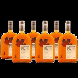 Lot de 6 Whisky Canadien à l'érable - Coureur des Bois