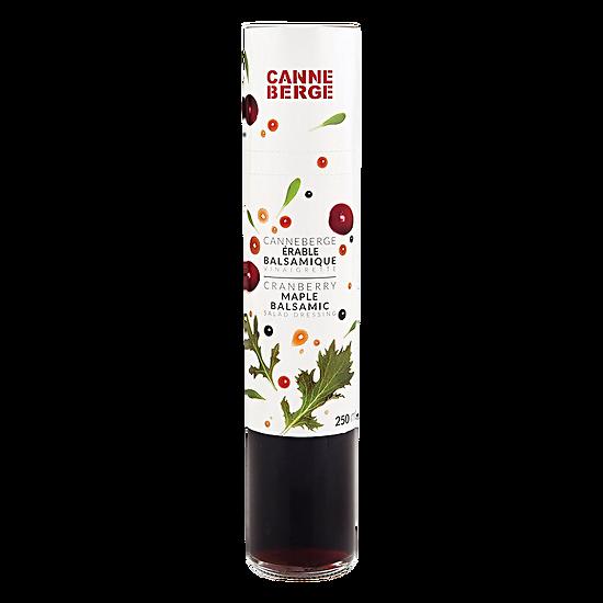 Vinaigrette à la canneberge & érable & vinaigre balsamique