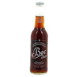 Bec cola with maple syrup