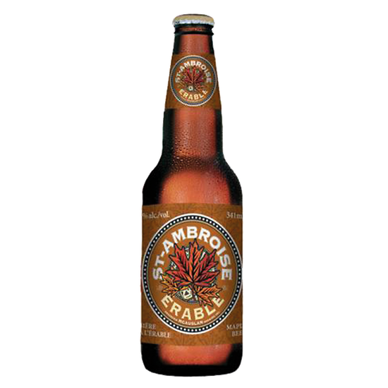 Canadian beer with maple - Saint Ambroise