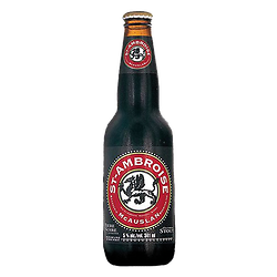 Canadian beer Black with oats - Saint Ambroise
