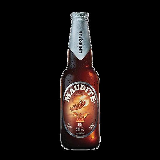 Bière canadienne Maudite - Unibroue