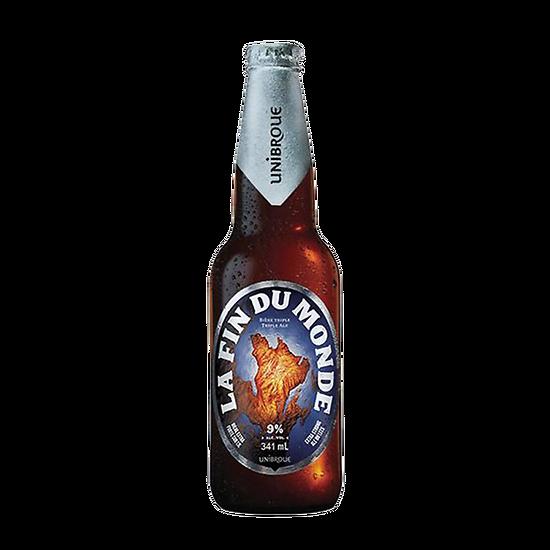 Bière canadienne La fin du monde - Unibroue