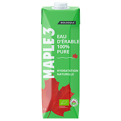 Organic maple water - Wahta