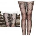 collants fashion dessins carrés