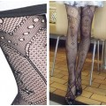 collant fashion motifs asymétriques