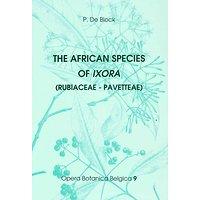 The African species of Ixora