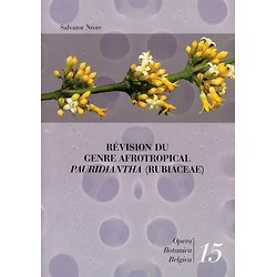 Révision du Genre Afrotropical Pauridiantha (Rubiaceae)