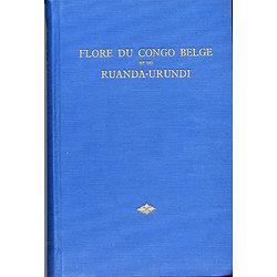 Flore d'Afrique centrale (Flore du Congo Belge et du Ruanda-Urundi), vol. I