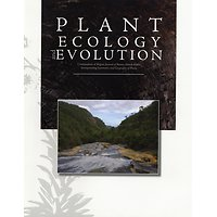 Plant Ecology and Evolution - Subscription 2020