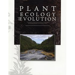 Plant Ecology and Evolution - Subscription 2019