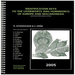 Identification keys to the liverworts and hornworts of Europe and Macaronesia