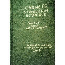 Carnets d'expédition botanique voyage entre arts et sciences