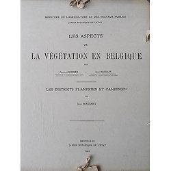 Les Aspects de La Végétation en Belgique, Les Districts Flandrien et Campinien