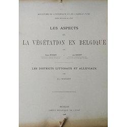 Les Aspects de La Végétation en Belgique, Les Districts Littoraux et Alluviaux