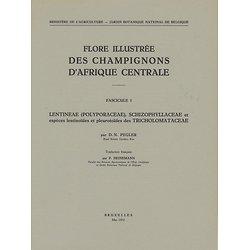 Flore Illustrée des Champignons d'Afrique Centrale COMPLETE