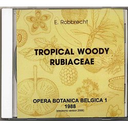 Tropical Woody Rubiaceae CD-ROM