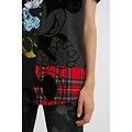 T-shirt tartan Minnie Mouse