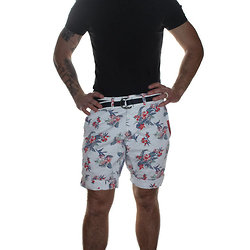 BERMUDA INTERNATIONAL PRINT CHINO