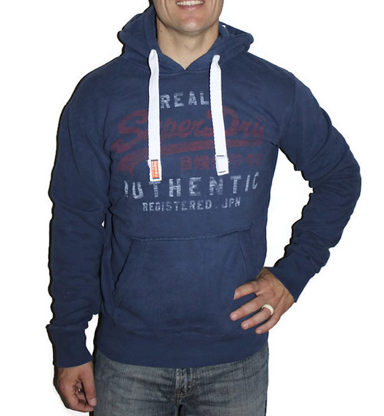 SWEAT VINTAGE AUTHENTIC ENTRY HOOD