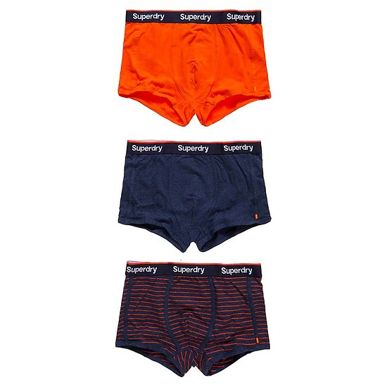 LOT DE 3 BOXERS SPORT TRUNK STRIPE
