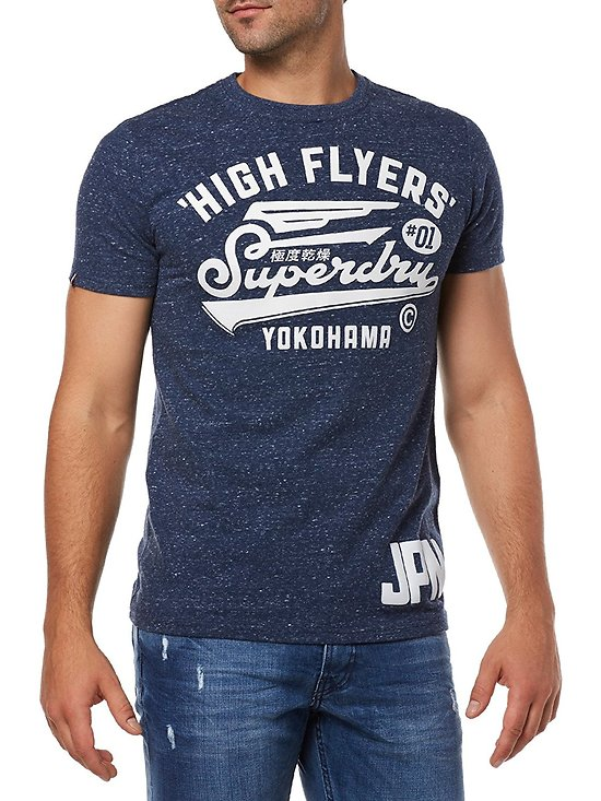 T-SHIRT HIGH FLYERS REWORKED TEE