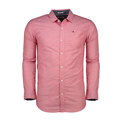 CHEMISE BASIC SOLID RACING RED