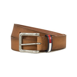 CEINTURE THD METAL LOOP FLAG TAN