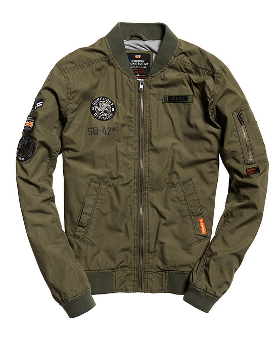 BOMBER ROOKIE AVIATOR PATCHED