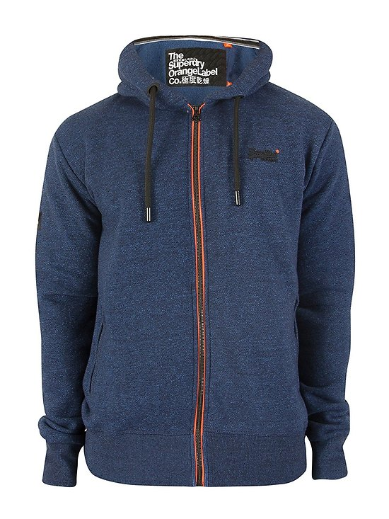 SWEAT ORANGE LABEL URBAN ZIPHOOD