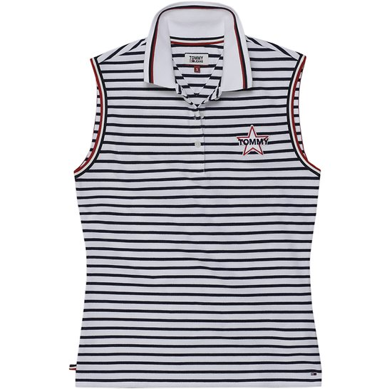 POLO TJW BADGE SLEEVELESS