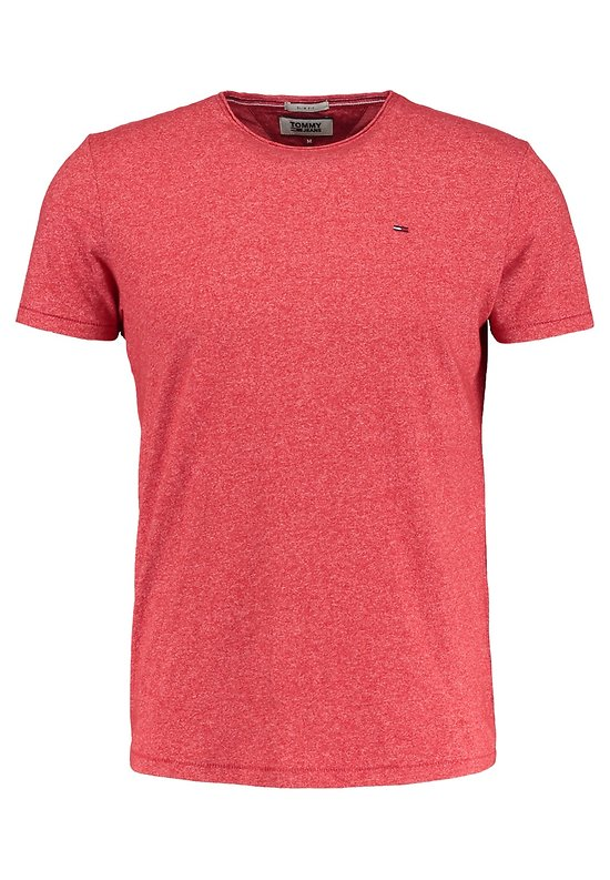 T-SHIRT CN KNIT RED