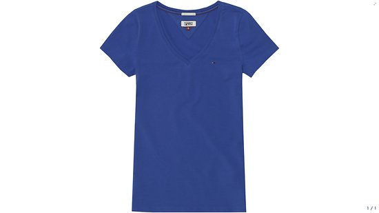 T-SHIRT STRETCH JERSEY NAUTICAL BLUE