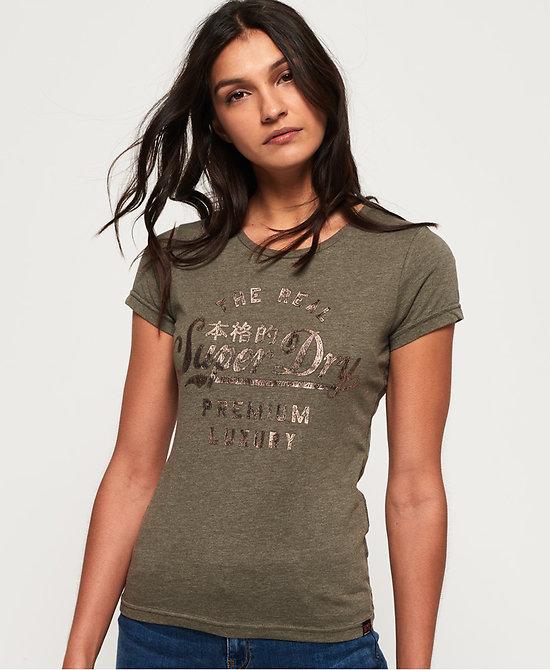 T-Shirt Métallisé Luxury