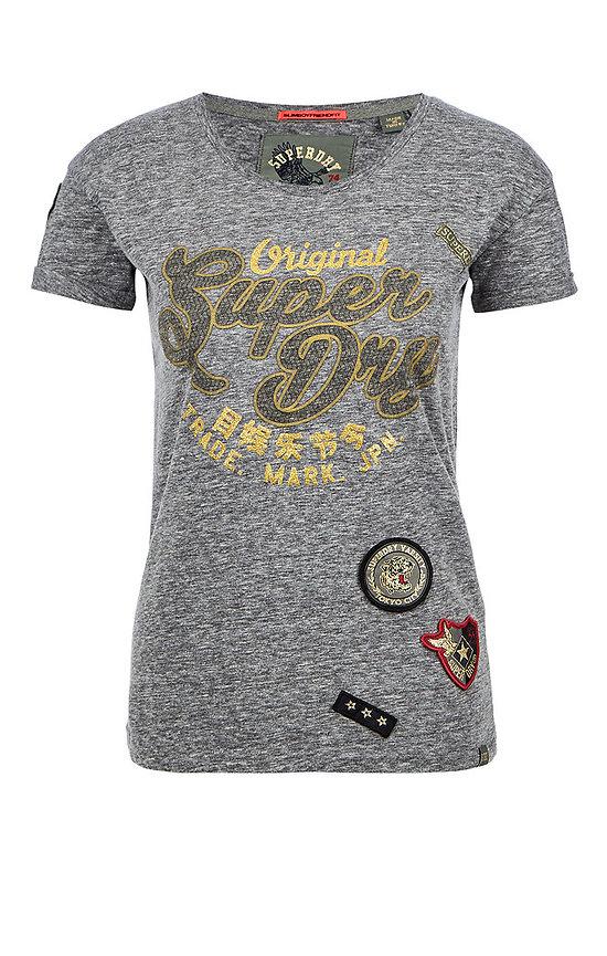 T-Shirt Coupe Boyfriend Slim Faye Script