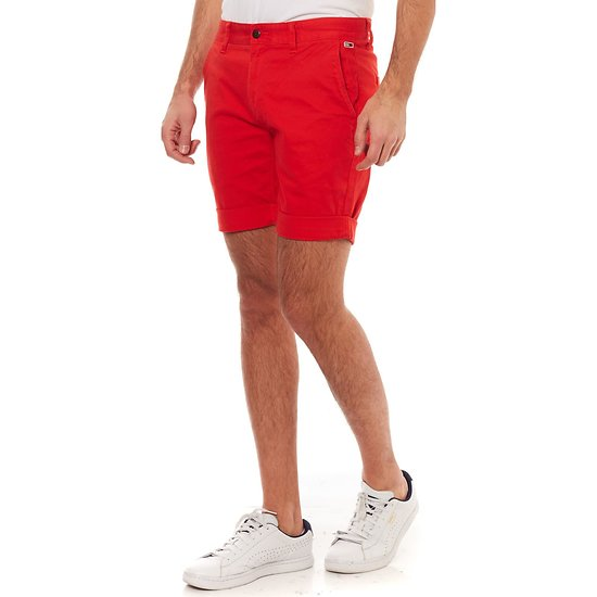 Short Essential Chino en coton stretch