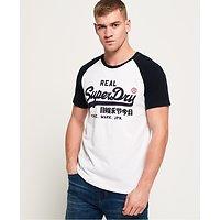 T-Shirt À Manches Raglan Et Logo Vintage 1st