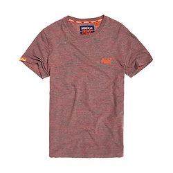 T-Shirt Brodé Vintage Orange Label
