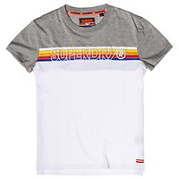 T-SHIRT CALI STRIPE EMBROIDERY