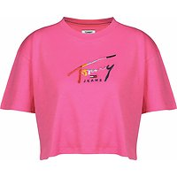 T-SHIRT COURT À LOGO SIGNATURE