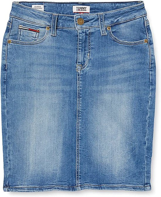 JUPE CLASSIQUE EN DENIM DYNAMIC STRETCH