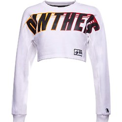 SWEAT FRANCHISE CROPPED BATWING CREW