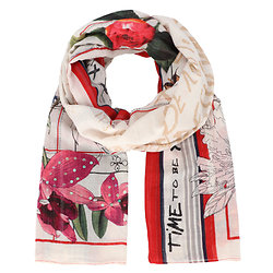 FOULARD MIX FLOWER RECTANGLE