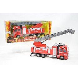 Camion de pompier 21 cm métal