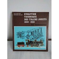 Livre évolution technique des trains jouets 1880-1930