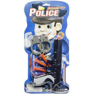 Blister Set de police avec pistolet 5-pièces